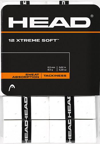 Viršutinės koto apvijos Head Xtremesoft (12 vnt.) - white