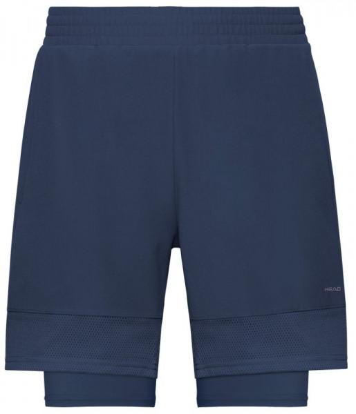 Meeste tennisešortsid Head Slider Shorts M - dark blue