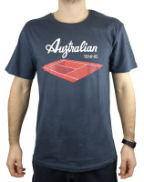 Australian Jersey T-Shirt with Print - blu navy