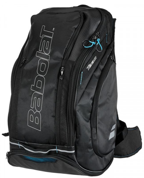 Tennis Backpack Babolat Team Line Backpack Maxi - black