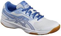 Damskie buty do squasha Asics UpCourt 2 - white/regatta blue/airly blue