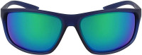 Naočale Nike Adrenaline M - midnight navy/clear green/mirror lens