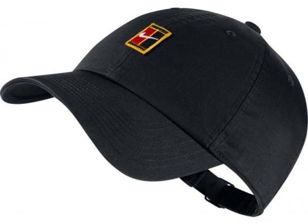 Czapka tenisowa Nike H86 Court Logo Cap - black