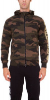 Męska bluza tenisowa Hydrogen Do It Better FZ Hoodie - camouflage