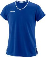 Marškinėliai mergaitėms Wilson Team II V-Neck G - team royal