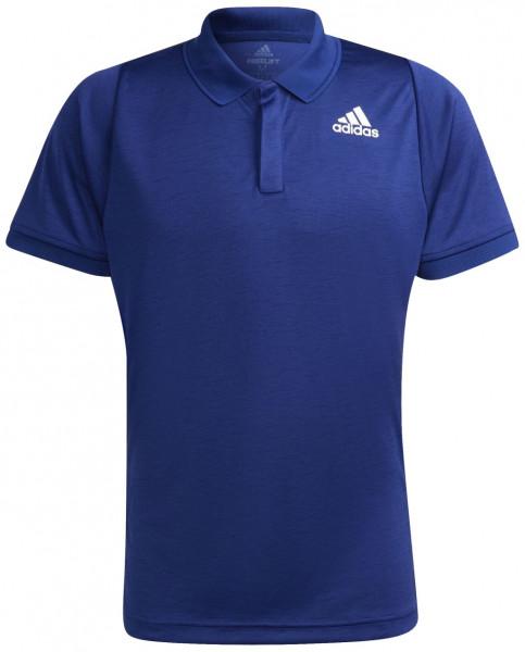 Polo marškinėliai vyrams Adidas Freelift Polo M - victory blue/white