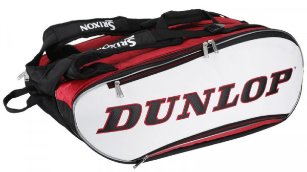 Tennis Bag Dunlop Srixon 12-Pack Bag - red