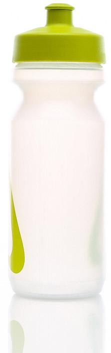 Bidon Bidon Nike Big Mouth Water Bottle 0,65L - clear/atomic green
