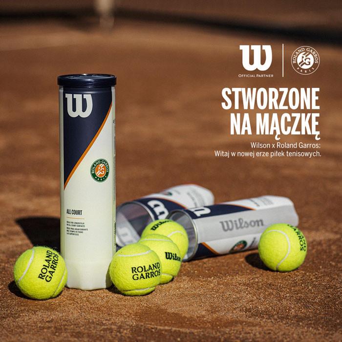 Wilson Piłki Roland Garros