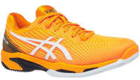 Męskie buty tenisowe Asics Solution Speed FF 2 Clay - amber/white