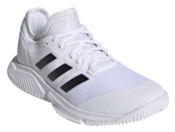 Naiste tennisetossud Adidas Court Team Bounce W - cloud white/core black/silver metallic