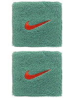 Nike Swoosh Wristbands - healing jade/team orange