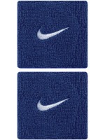 Riešo apvijos Nike Swoosh Wristbands - royal blue/white