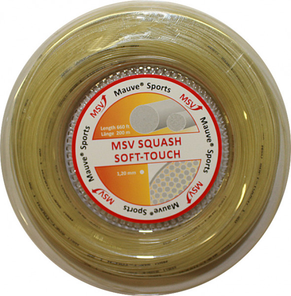 Squashikeeled MSV Squash Soft Touch (200 m) - natural