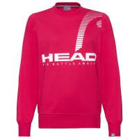 Head Rally Sweatshirt W - magenta