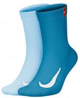 Teniso kojinės Nike Multiplier Crew 2PR Cushion - 2 poros/multi-color