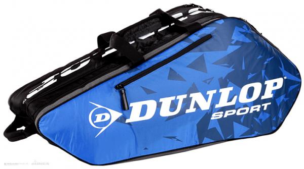 Teniso krepšys Dunlop Tour 10RKT - blue
