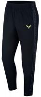 Męskie spodnie tenisowe Nike Court Rafa Pant - black/volt