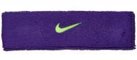 Frotka na głowę Nike Swoosh Headband - court purple/volt