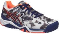 Męskie buty tenisowe Asics Gel-Resolution 7 L.E. Melbourne - white/indigo blue/hot orange