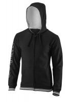 Bluzonas vyrams Wilson Team II FZ Hoody M - black