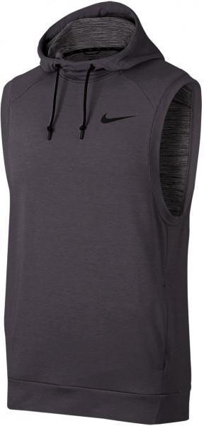 Męska kamizelka tenisowa Nike Dry Hoodie SL Hyper Dry Lite - black/black/white/metallic hematite