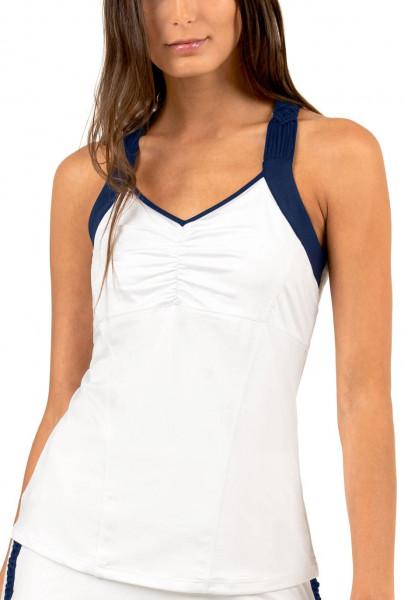 Marškinėliai moterims Lucky in Love Macrame Core Tahiti Cami Women - white