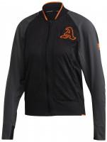 Damska bluza tenisowa Adidas VRCT Primeblue Jacket Women - grey six/black
