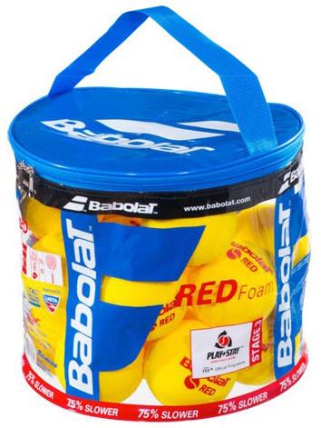 Juniorskie piłki tenisowe Babolat Red Foam Bag 24B