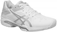 Damskie buty tenisowe Asics Gel-Solution Speed 3 - white/silver
