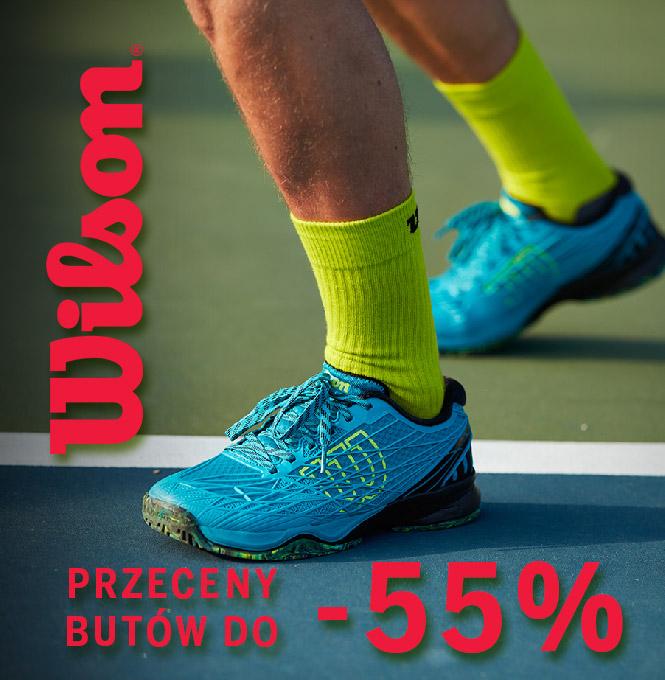 Wilson - przeceny butów tenisowych