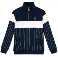 Muška sportski pulover Fila Howe Half-Zip Sweat Men - black iris/blanc de blanc