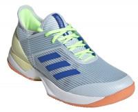 Adidas Adizero Ubersonic 3 W - sky tint/glow blue/amber tint
