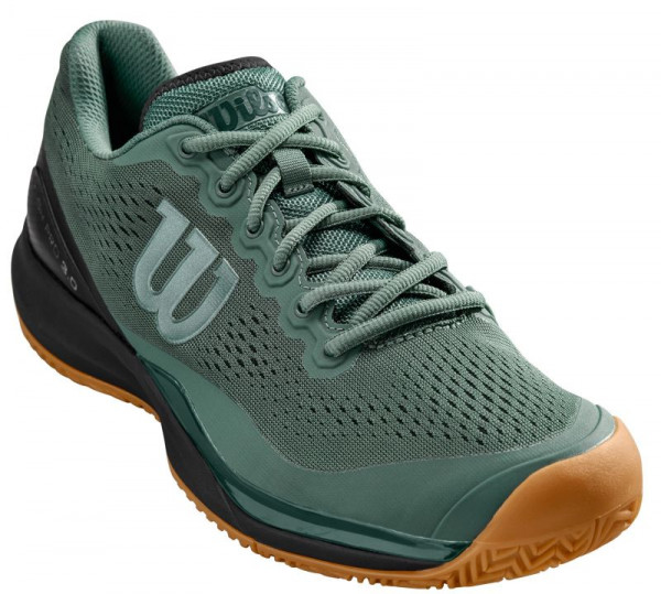 Męskie buty tenisowe Wilson Rush Pro 3.0 - duck green/black/jungle green
