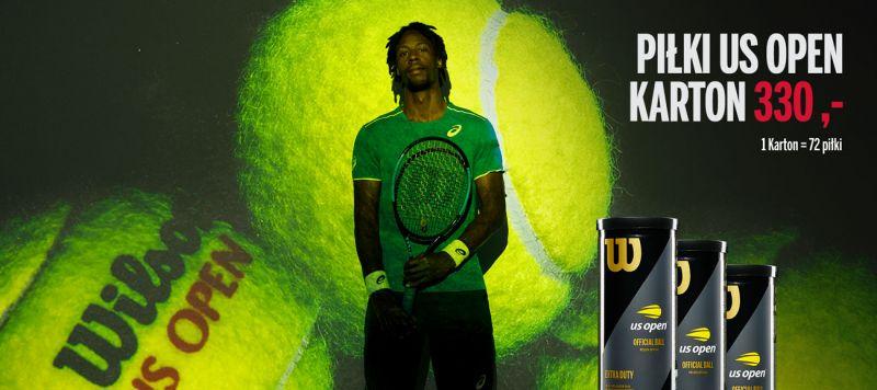 Wilson US OPEN - piłki tenisowe