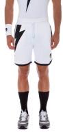 Męskie spodenki tenisowe Hydrogen Thunderbolt Tech Shorts - white