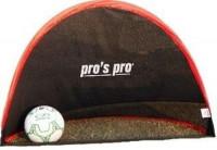 Pro's Pro Pop-up goal set (2 pcs) - black/red