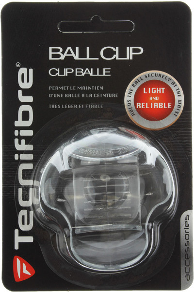Držač loptice Tecnifibre Ball Clip - transparent