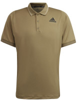 Męskie polo tenisowe Adidas Freelift Primeblue Polo Shirt M - orbit green