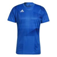 T-krekls vīriešiem Adidas Freelift Tokyo T-Shirt Primeblue HEAT.RDY M - glory blue/white