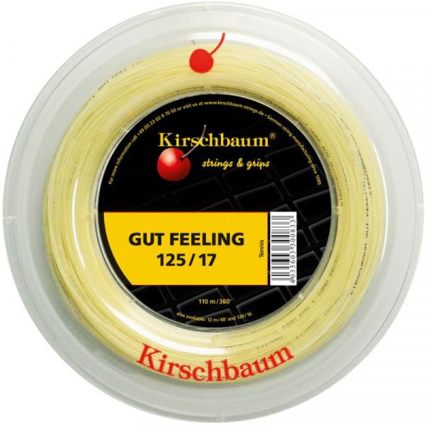 Tenisa stīgas Kirschbaum Gut Feeling (110 m)