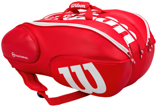 Wilson Vancouver Pro Staff 15 Pack - red/white
