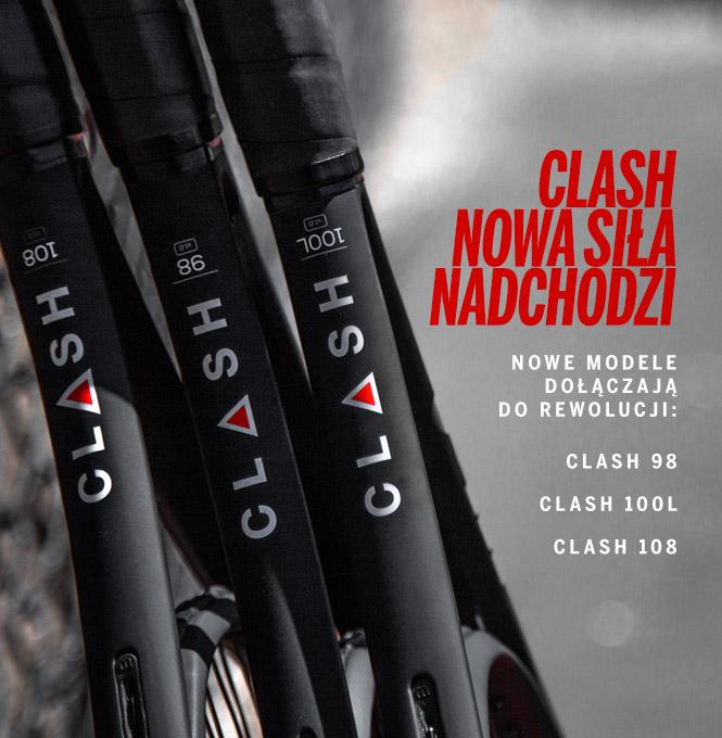 Wilson Clash - nowe modele