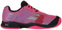 Juniorskie buty tenisowe Babolat Jet Clay Junior - pink/black