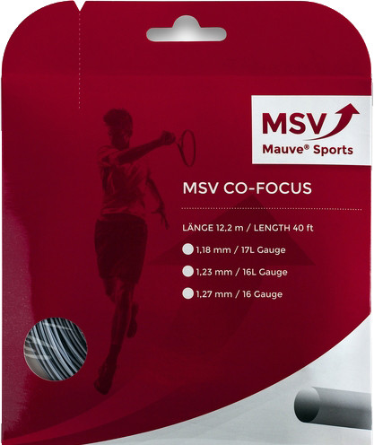 Tennisekeeled MSV Co. Focus (12 m) - silver