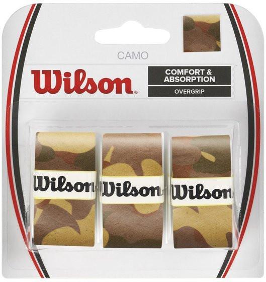 Viršutinės koto apvijos Wilson Camo Overgrip - brown