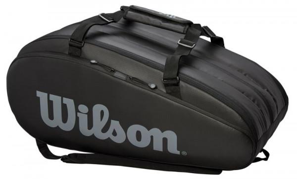 Torba tenisowa Wilson Tour 3 Comp - black/grey