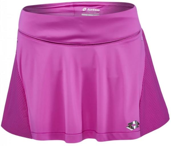 Ženska teniska suknja Lotto Nixia III Skirt - purple india