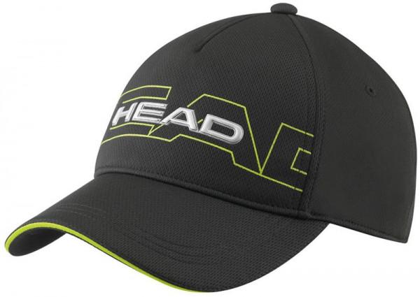 Czapka Tenisowa Head Performance Function Cap - black