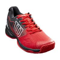 Męskie buty tenisowe Wilson Devo Bandeja Clay - wilson red/black/white